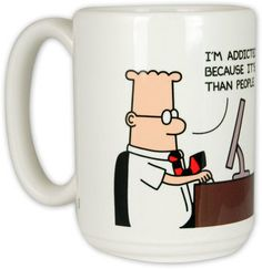 Must Resist Internet #Dilbert #coffee Mug