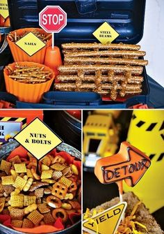 {Dangerously Cute!} Construction Party Ideas by CrashFistFight