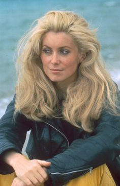 One of the most beautiful women, Catherine Deneuve, 1968