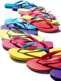 Comfortable flip flops for lounging around. Whether you're at the beach or not, carrying a pair is essential.