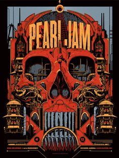 pearl jam art posters - Buscar con Google