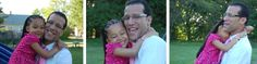 Albany Common Council candidate Andres Rivera with his daughter website collage