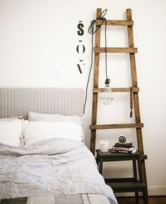 rustic ladder for decor - Google Search