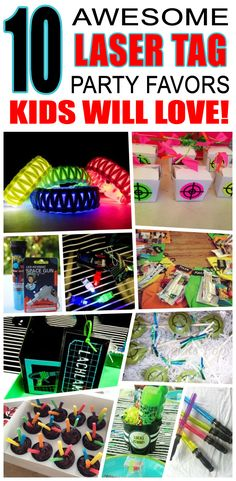 Great laser tag party favors kids will love. Fun and cool laser tag birthday party favor ideas for c Lazer Tag Birthday Party, Laser Tag Birthday, Laser Tag Party, Birthday Gifts For Boys, Boy Birthday Parties, Husband Birthday, 8th Birthday, Birthday Celebration, Happy Birthday