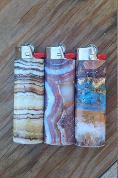 Gemstone Bic Lighters by BFrankDesigns on Etsy