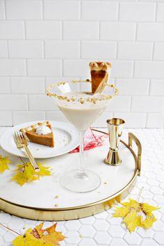 Spiced Pumpkin Pie Martini – A Beautiful Mess