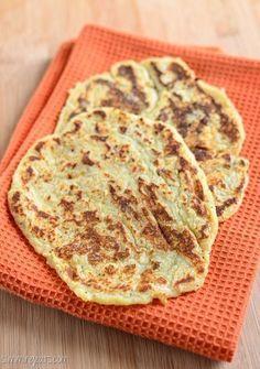 Slimming Eats Sweet Potato Naan Bread - gluten free, dairy free, paleo, vegetarian, Slimming World and Weight Watchers friendly