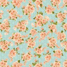 Secret Garden Roses All Over Blue/Pink Graphic 45, Cool Fabric, Fabric Design, Craft Supplies, Garden Roses, Cool Stuff, Sewing, Fun, Handmade