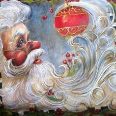 Love this Santa Claus picture! Merry Christmas and Happy Holidays! Old Time Christmas, Christmas Past, Father Christmas, Vintage Christmas Cards, Christmas Pictures, Christmas Holidays, Christmas Crafts, Christmas Decorations, Christmas Ornaments