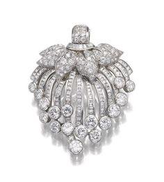 DIAMOND CLIP, SUZANNE BELPERRON, CIRCA 1955