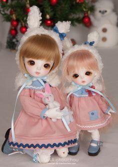 Linachouchou bjd doll,  Piyo&Mingky