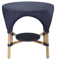 Sagu Side Table Blue. A Block and Chisel Product.