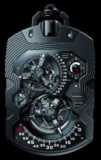J'aime Les Montres: La Montre de poche du jour: Urwerk UR-1001 Zeit De...
