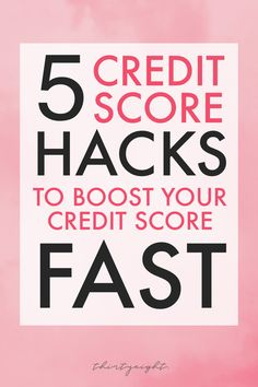 how to fix your credit Discover the best tips to quickly boost your credit score! Ready to purchase a home Need a loan Learn about our favorite 5 tips for increasing your credit score! Increasing Credit Score, How To Fix Credit, Build Credit, Improve Your Credit Score, Credit Card Hacks, Best Credit Cards, Building Credit Score, Credit Repair Companies, Free Credit Repair