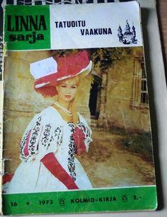 Jemina Staalon kirjaploki: Linna-sarja ja muu romanttinen lukemisto, viihdekirjallisuus 1970-ja 1980-luvuilta