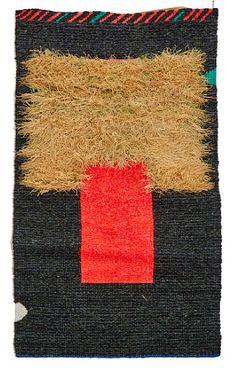 "RAGNHILD MONSEN ROGNAN I SALTDAL. 1948  ""Flesh"" Billedvev, 145x75 cm Signert på etikett bak: Ragnhild Monsen Design Art, Modern Design, Oslo, Shag Rug, Norway, Textiles, Rugs, Home Decor, Shaggy Rug"