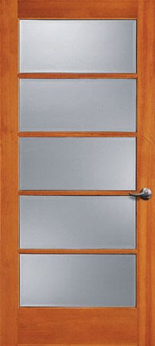 French Doors At Main Floor Will Have Clear Glass, Pocket Door At Laundry U0026  Master