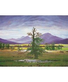 Caspar David Friedrich, Der einsame Baum