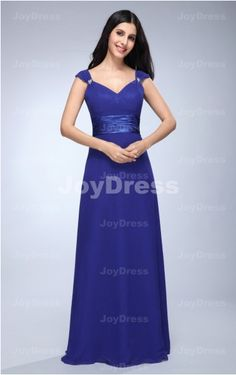 cheap wedding guest dress onsale   Cut Back A-line V-neck Floor-length Dress   £61.00