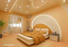 10 Smooth Clever Tips: False Ceiling Kitchen Home false ceiling restaurant interiors.False Ceiling Diy Wall Colors false ceiling hall home.False Ceiling Basement Home Theaters. Bed Design, Ceiling Design Bedroom, Luxury Bedroom Design, Luxurious Bedrooms, False Ceiling Design, Contemporary Decor, Home Decor, House Interior, Interior Design