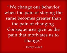 Excellent quote about life change!