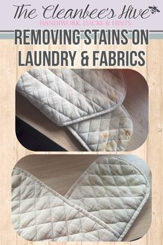 Removing stains from laundry & fabrics – Effective cleaning tips from Cleanbee