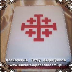 022. Biały tort dla księdza. White cake for priest.
