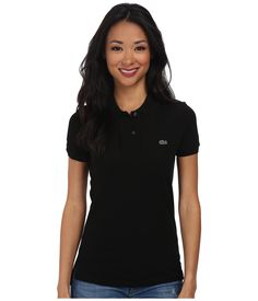 LACOSTE Short Sleeve Classic Fit Pique Polo Shirt. #lacoste #cloth #