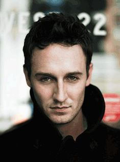 Josh Stewart's voice is not as deep. But I do love his blue eyes though.