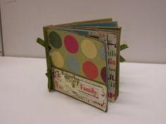 Paper bag scrapbook/cookbooks!