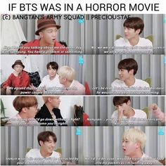 If Bts was in a horror movie