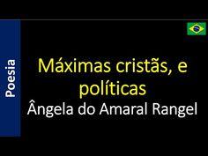 Poetry (EN) - Poesia (PT) - Poesía (ES) - Poésie (FR): Ângela do Amaral Rangel - Máximas cristãs, e polít...