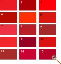 Red shades for spring Clear Spring, Warm Spring, Color Type, Seasonal Color Analysis, Vash, Season Colors, Color Pallets, Spring Colors, Color Inspiration