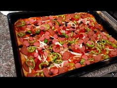 YouTube Vegetable Pizza, Feel Good, Salsa, Food And Drink, Bread, Ethnic Recipes, Youtube, Google, Food And Drinks