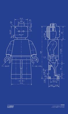 Blueprint craft idea white paper with blue colored pencil or blue lego man blueprint malvernweather Image collections