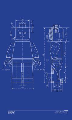 Blueprint craft idea white paper with blue colored pencil or blue lego man blueprint malvernweather Choice Image