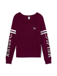 Shop the latest victorias secret pink long sleeve products on Wanelo, the world's biggest shopping mall. Victoria Secret Outfits, Victoria Secret Pink, Victorias Secret Clothes, Pink Love, Cute Pink, Cute Sweaters, Cute Shirts, Pink Outfits, Cute Outfits