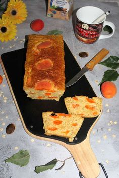 Cake d'avoine abricots et cardamome - Chez Vanda Chez Vanda, Rhubarb Desserts, Cheesecakes, Cake Pops, French Toast, Muffins, Breakfast, Food, Cupcakes