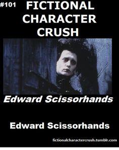 #101 - Edward Scissorhands