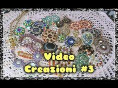 ▶ Video Creazioni #3 - Orecchini Ciondoli Anelli - Peyote Embroidery Tessitura Perline Bijoux DIY - YouTube