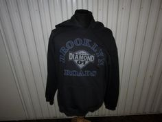 NEIL DIAMOND-BROOKLYN ROADS-2001 TOUR DARK BLUE PULLOVER HOODIE--MEDIUM | Entertainment Memorabilia, Music Memorabilia, Rock & Pop | eBay!