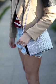 Black & white bag.