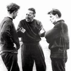 Jimmy Murphy (seen here in the middle). The man who stood his ground and carried United beyond those dark Munich days. Thank you, Jimmy.