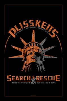 """Snake Plissken's Search & Rescue Pty. Ltd."" inspired by Escape From New York"