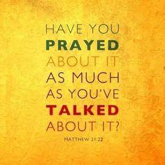Always pray abt it!!!
