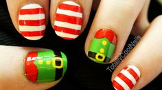 Elf Nail Art Tutorial Link: http://www.youtube.com/user/TotallyCoolNails?feature=mhee