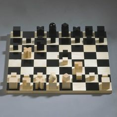 1000 ideas about chess pieces on pinterest chess sets chess and chess boards - Bauhaus chess board ...