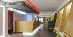 Interior Architecture, Interior Design, Architect Design, Second Floor, Lighting Design, Clinic, Shapes, Architects, Athens Greece