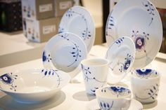 Royal Copenhagen - a classic piece of Danish design. Founded in 1775, Royal Copenhagen is actually one of the world's oldest companies. Drop by the Royal Copenhagen store at Copenhagen Airport and admire the beautiful porcelain.