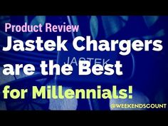 Product Review - Jastek Chargers are the Best For Millennials - YouTube  This product is best for family travel and working professional millennial moms and dads! The Jastek product is great for people on the go!